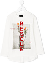 Diesel Rescue graphic T-shirt