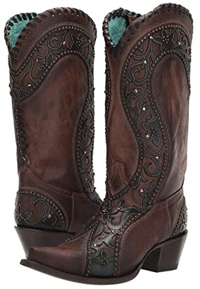 Corral Boots E1539 (Brown) Women's Boots