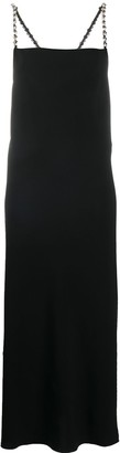 Dorothee Schumacher Embellished Strap Maxi Dress