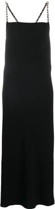 Dorothee Schumacher Embellished Strap Maxi Dress
