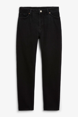 Monki Kimomo deep black jeans