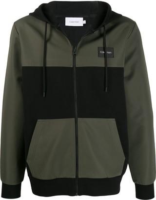 Calvin Klein zipped-up hoodie