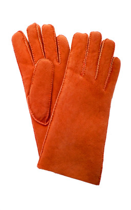 Maison Fabre Short Shearling Cuff Gloves