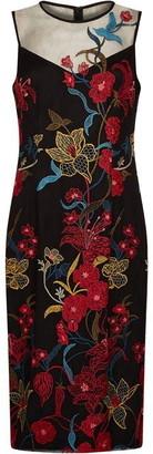 Adrianna Papell Dancing Garden Sheath Dress