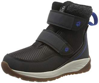 Jack Wolfskin Unisex Kids' Polar Bear Texapore Mid Vc K Wasserdicht Snow Boots, (Phantom/Off-White 6365)