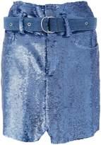 IRO Natou sequinned skirt