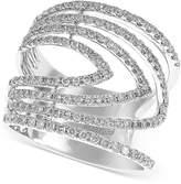Effy Geo by Diamond Ring (7/8 ct. t.w.) in 14k White Gold