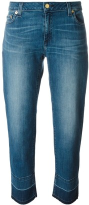 MICHAEL Michael Kors Released-Hem Straight-Leg Jeans