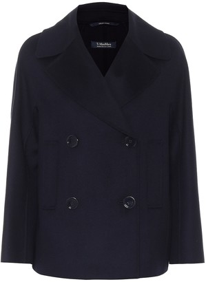 S Max Mara Connie wool pea coat