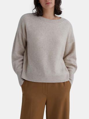 Club Monaco Boiled Cashmere Boatneck Sweater