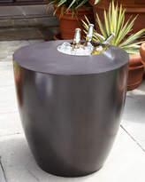 Horchow Beverage Cooler Side Table