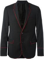 Lanvin ribbon trim blazer
