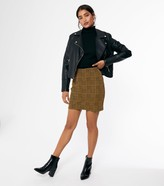 Thumbnail for your product : New Look Check Mini Tube Skirt