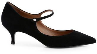 Tabitha Simmons Hermione Suede Mary Jane Pumps