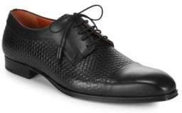 Mezlan Textured Leather Oxfords