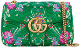 Gucci GG Marmont shoulder bag - women - Silk/Leather - One Size