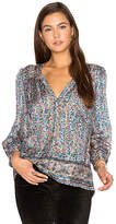 Joie Frazier Blouse in Blue. - size XS (also in )
