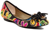 J. Renee Edelina Embroidered Flat - Wide Width Available