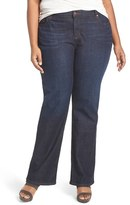 Eileen Fisher Stretch Organic Cotton Bootcut Jeans (Plus Size)