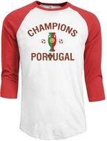 Hera-Boom Men's Portugal Euro 2016 Champions 3/4 Sleeve Baseball T-shirts XXL (3 Colors)