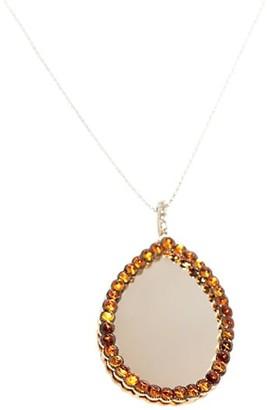 Sharon Khazzam Murree 18K Yellow Gold, Citrine Diamond Pendant Necklace
