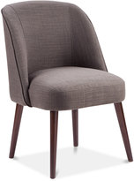 Lia Soft Rounded Back Dining Chair, Quick Ship