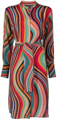 Paul Smith Artist Stripe shirt dress