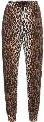 Versace leopard print joggers