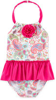 INTERNATIONAL ASSORTED BRANDS Sol Swim Paisley Dancer One-Piece Swimsuit - Toddler Girls 2t-4t