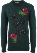 Dolce & Gabbana embellished jumper