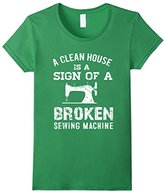 Womens Sewing Lovers T Shirt Gift For Women Medium