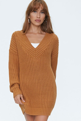 Forever 21 Drop-Sleeve Sweater Dress