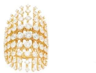 Fernando Jorge Disco Diamond & 18kt Gold Ring - Womens - Gold