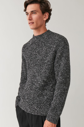 Cos Speckled Chunky-Knit Sweater