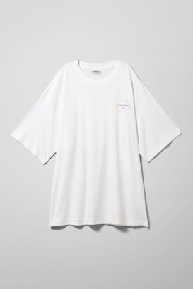 Weekday Huge Printed T-Shirt - Black