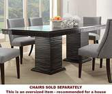 Homelegance Trent Home Chicago Dining Table in Deep Espresso