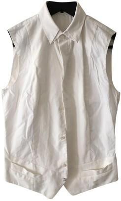 Barbara Bui White Cotton Top for Women