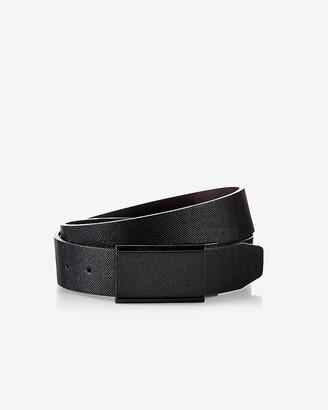 Express Reversible Textured Matte Plaque Belt
