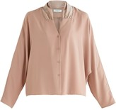 Sloane Paisie Blouse In Blush