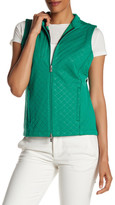 Peter Millar Diamond Laser-Cut Full Zip Vest
