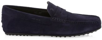 Tod's City Gommino Suede Driver