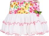 Pate De Sable Tiered Floral Tutu Skirt