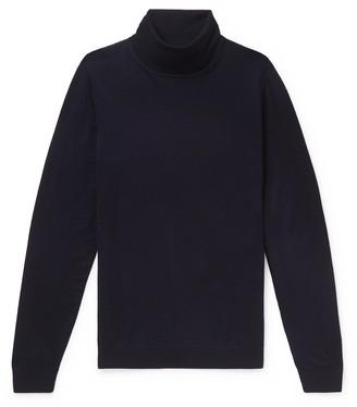 HUGO BOSS Slim-Fit Virgin Wool Rollneck Sweater