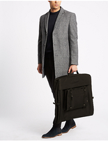 M&S Collection Scuff Resistant Cordura® Structured Suit Carrier