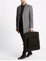 M&S Collection Scuff Resistant Cordura® Suit Carrier