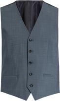 Dolce & Gabbana Contrast-panel wool-blend waistcoat
