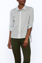 Nümph Grey Button Down Blouse