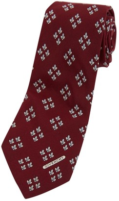 Givenchy Red Silk Ties