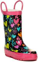 Western Chief Heart Splatter Rain Boot (Toddler & Little Kid)