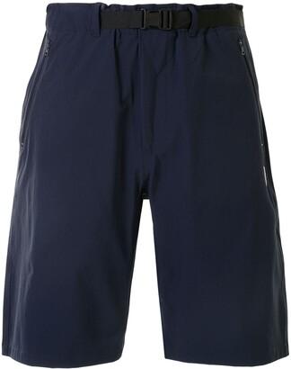 A Bathing Ape Logo Patch Knee-Length Shorts
